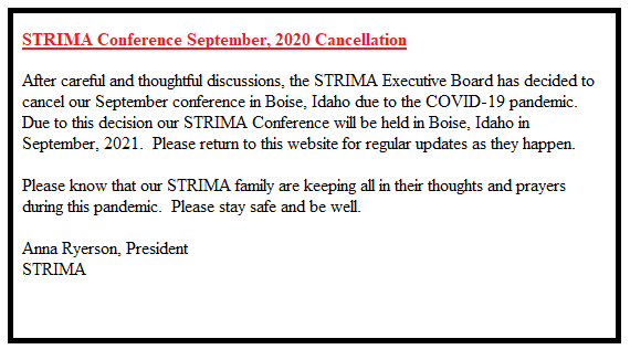 Conference Cancellation