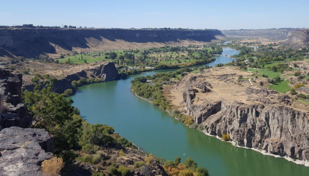 Snake River near Twin Falls
